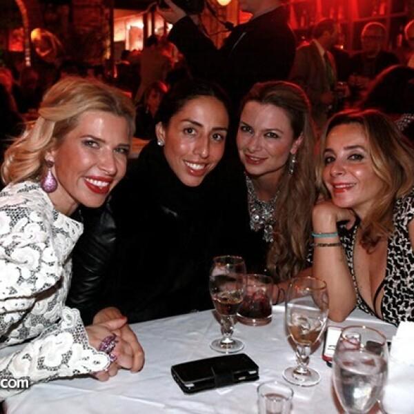 Batriz Pasquel,Melisa Flores,Catalina Buchanan y Luisa Serna
