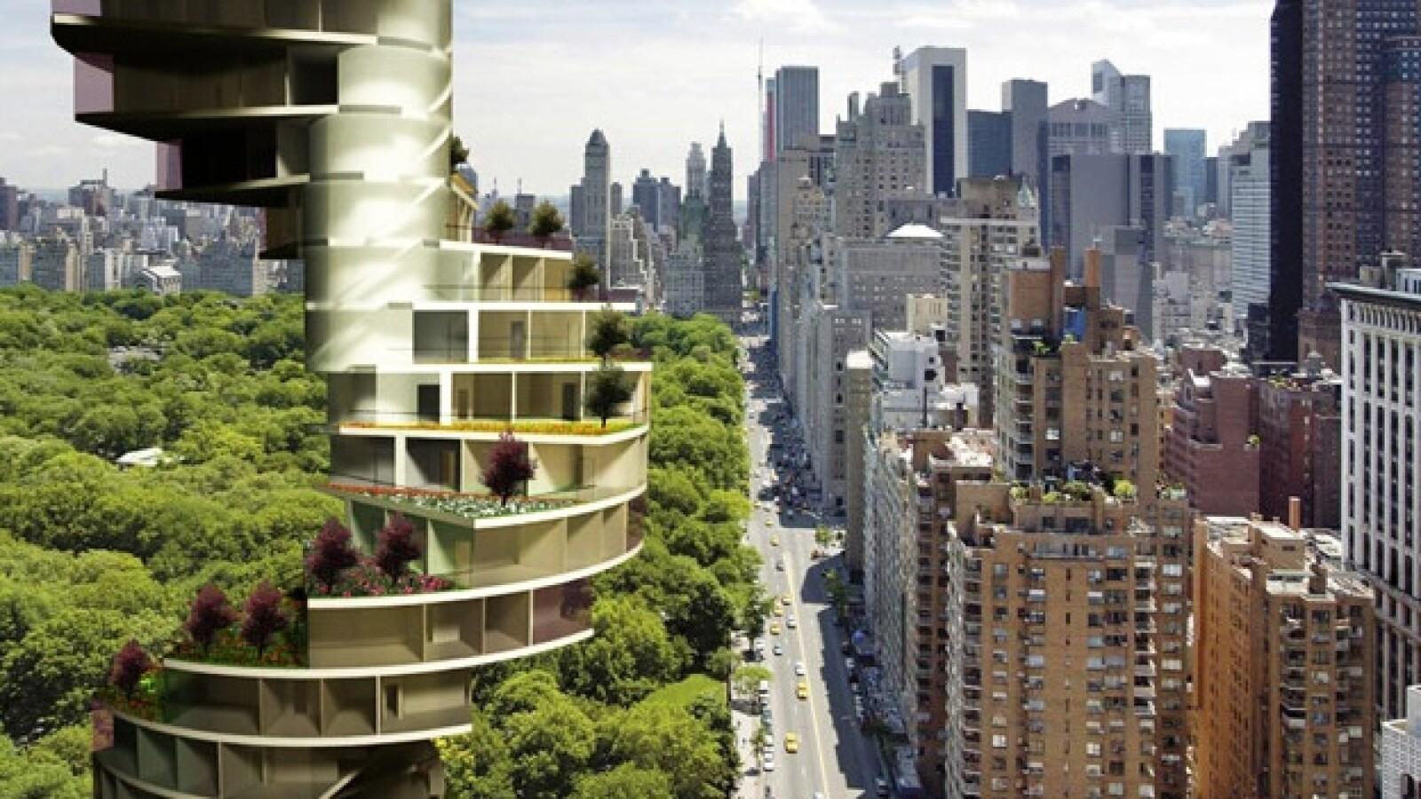 Rascacielos Barcelona Nueva York espiral Nabito alturas Stairscraper