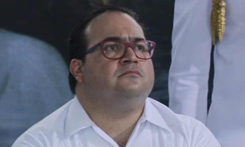 Javier Duarte, gobernador de Veracruz, la entidad con peor desempeño en el gasto federal, según la ASF. (Foto: Cuartoscuro/Archivo)