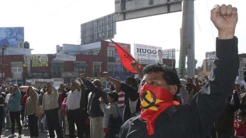 Sección 22 Oaxaca bloqueos