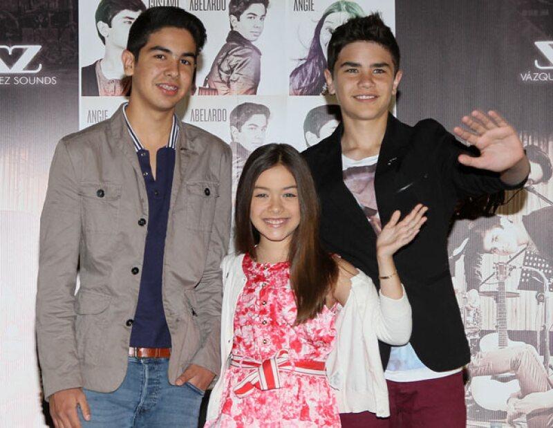 El trío infantil se presentó el día de ayer en dos eventos gratuitos. Miles de fans pudieron deleitar sus oídos con su talento musical.