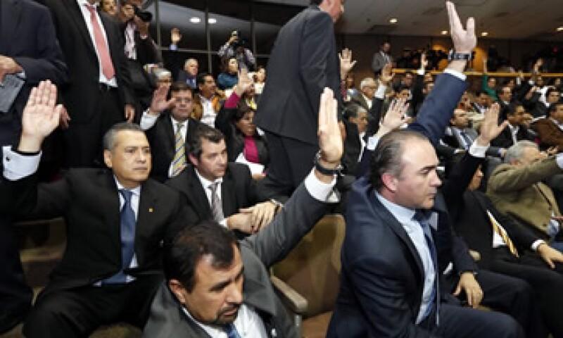 La Cámara de Diputados aprobó, tras casi 20 horas de debate, la reforma energética. (Foto: Cuartoscuro)
