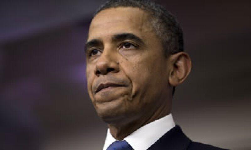 Obama lamentó que una solución al déficit estadounidense no se dé de manera amplia. (Foto: AP)