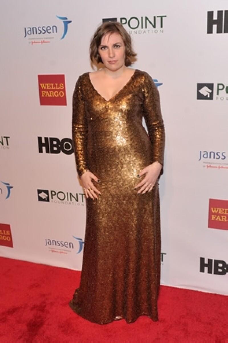 La actriz acudió ayer a la gala Point Honors y durante su discurso confesó que se sintió decepcionada al darse cuenta que le gustaban los hombres.
