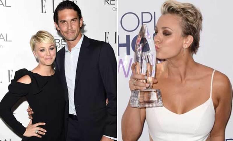 La actriz olvidó dar las gracias a su marido, Ryan Sweeting al recoger su premio.
