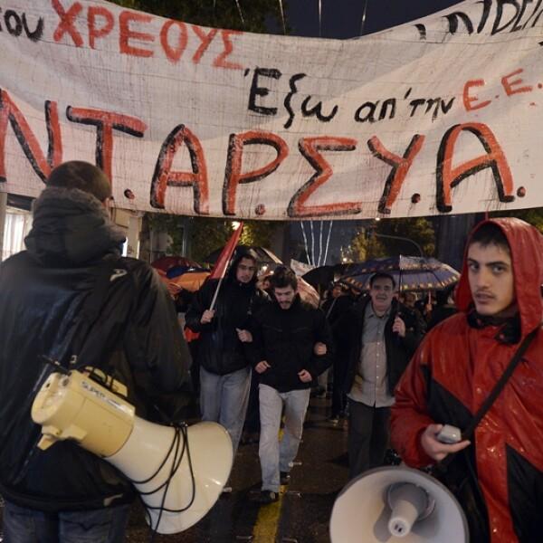 disturbios grecia gale