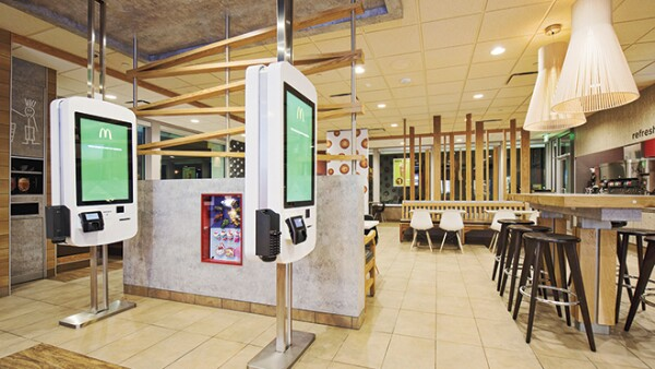 McDonalds automatizar comida r�pida