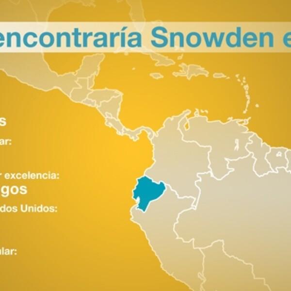 snowden ecuador