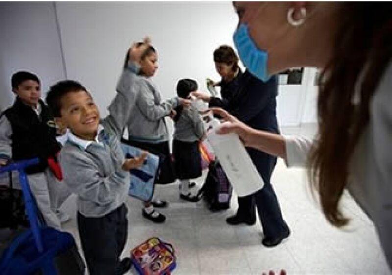 Las condiciones climáticas provocarán que la epidemia de influenza crezca en la segunda quincena del mes. (Foto: AP)