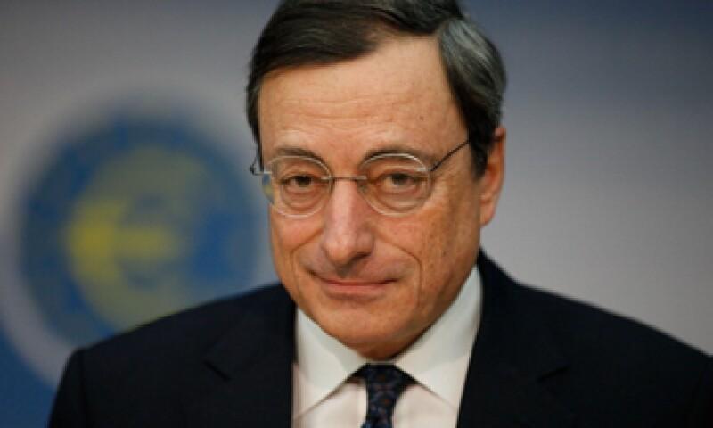 El titular de la entidad europea, Mario Draghi, afirmó el mes pasado que la medida se tomaría para apuntalar la débil recuperación. (Foto: Getty Images)