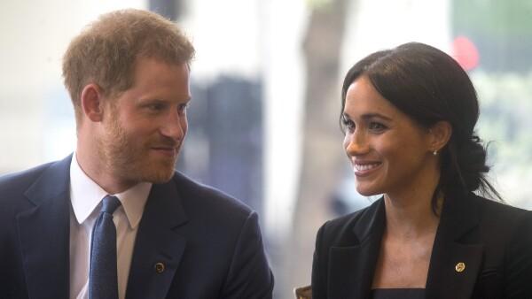 Harry y Meghan septiembre 2018