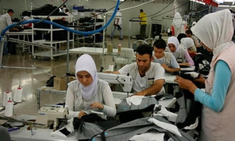 Linea de produccion textil