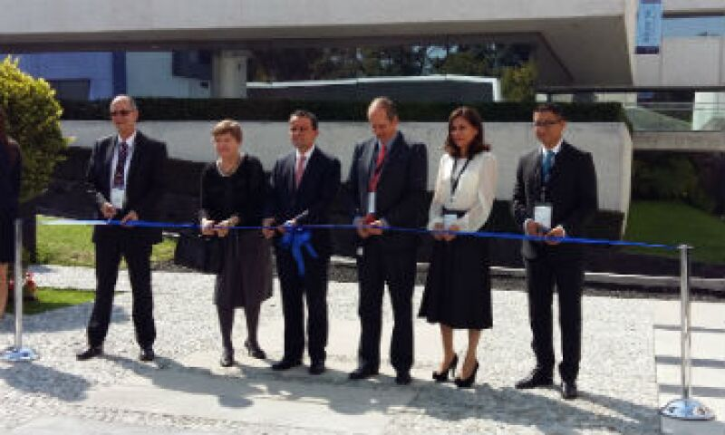 La inauguración de la planta. (Foto: Ilse Santa Rita)