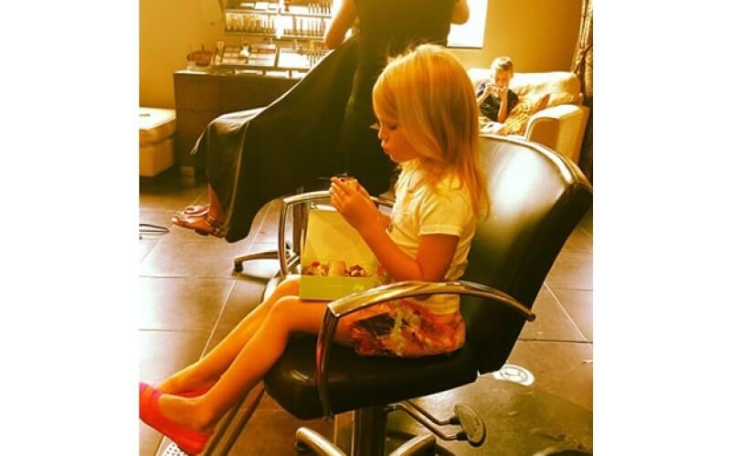 Maddie es vanidosa como su tía Britney.