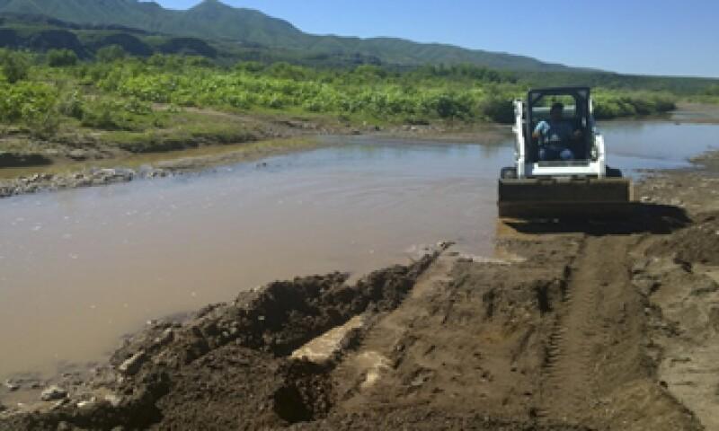 El derrame tóxico derivo en la contaminación de los ríos Sonora y Bacanuchi. (Foto: Cuartoscuro)