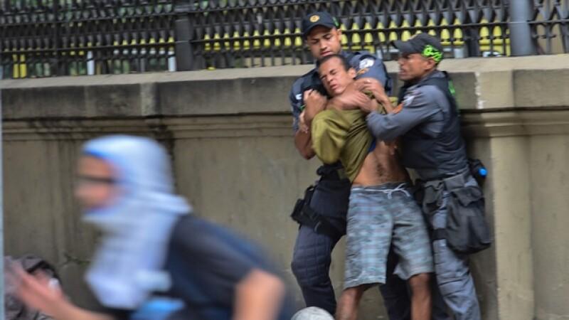 Río de Janeiro protestas