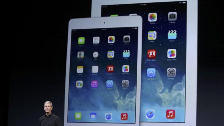 """La firma lanzó además un nuevo iPad de su variante """"mini"""" con """"pantalla retina"""""""