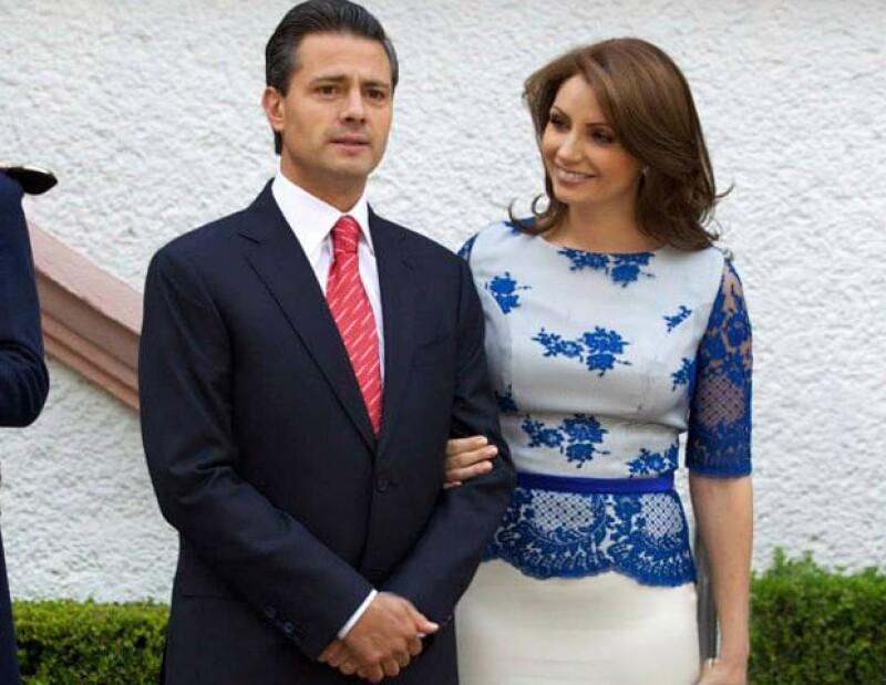 Angélica Rivera agradeció el apoyo de los ciudadanos y la atención médica brindada a su esposo.