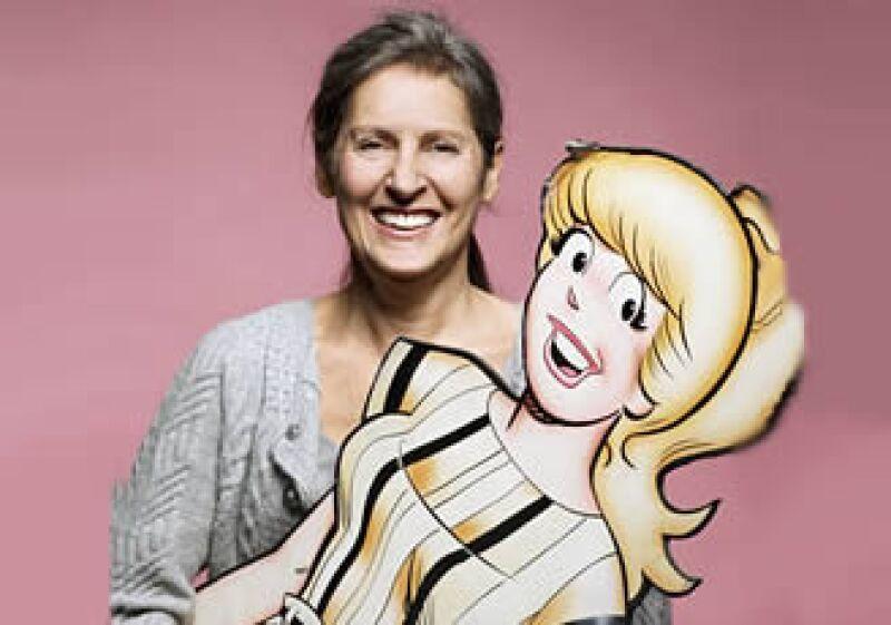 La ahora vicepresidenta de Archie Comics, Nancy Silberkleit, nunca pensó dedicarse a dirigir una empresa.   (Foto: Fortune)