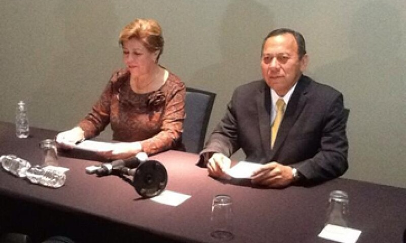 Los presidentes de ambos partidos leyeron conjuntamente el comunicado, sin admitir preguntas de los medios. (Foto: Tomada de @PRDmexico)