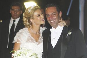 Boda de Carlos Slim Domit con Maria Elena Torruco en la Iglesia