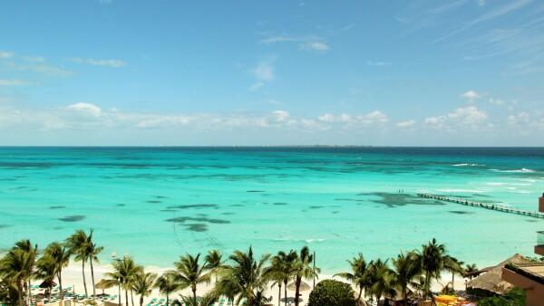 Resort de playa.