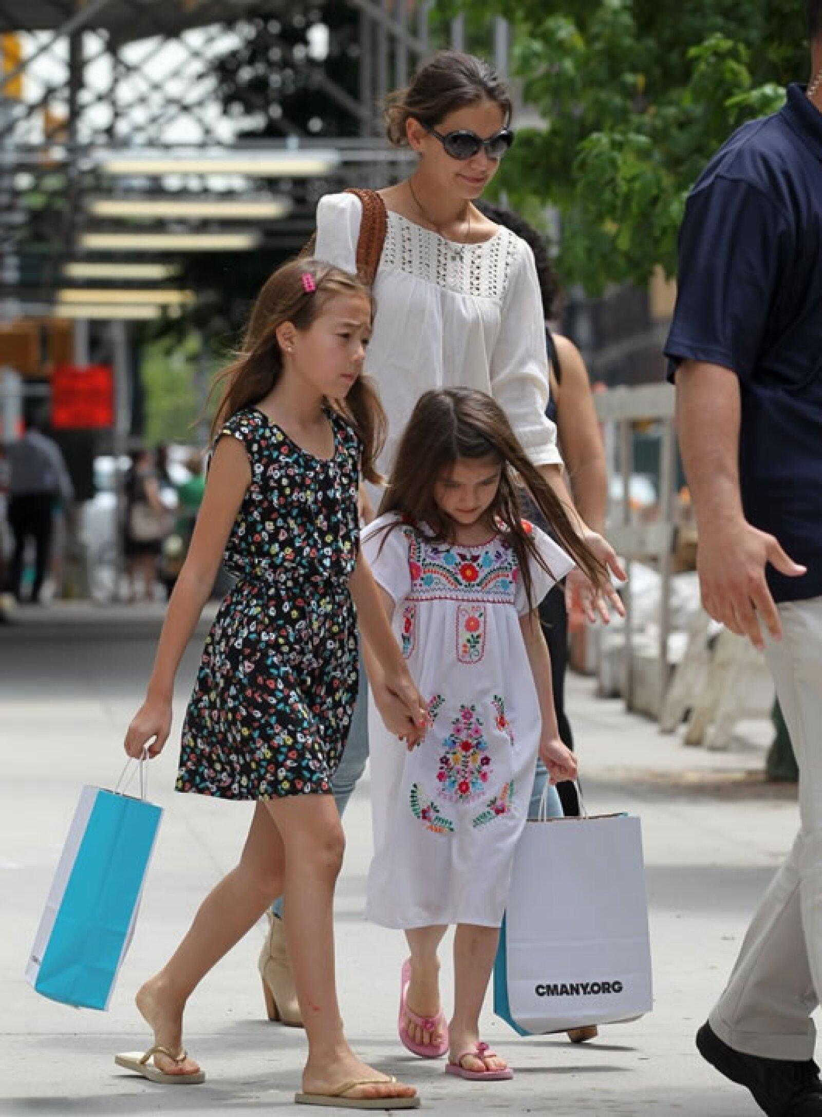Otro día, Suri acompañada de una amiga y su mamá disfrutaron del Museo del Niño, en `La Gran Manzana´.