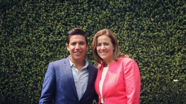 Luis Felipe Calderón Zavala y Margarita Zavala