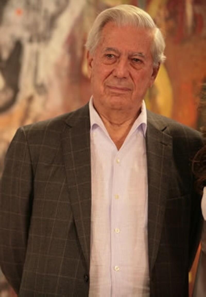 Mario Vargas Llosa ganó el premio Nobel de Literatura en 2010.