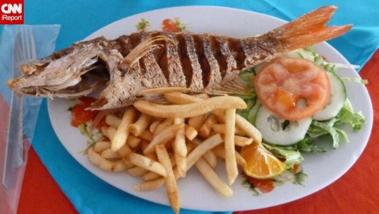 pescado frito Costa Rica