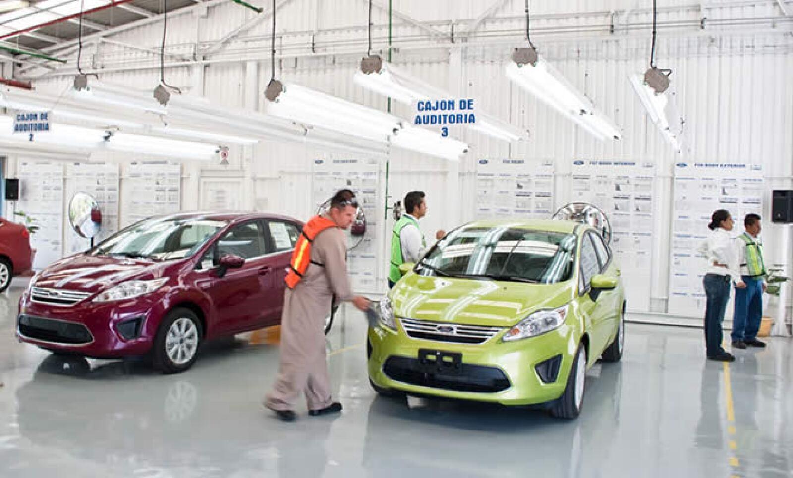 Ford sobrepasó en marzo de este año la producción del Fiesta un millón tan sólo en Europa, apenas 28 meses después de su introducción en dicho continente.