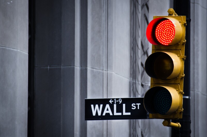 Red Light On Wall Street