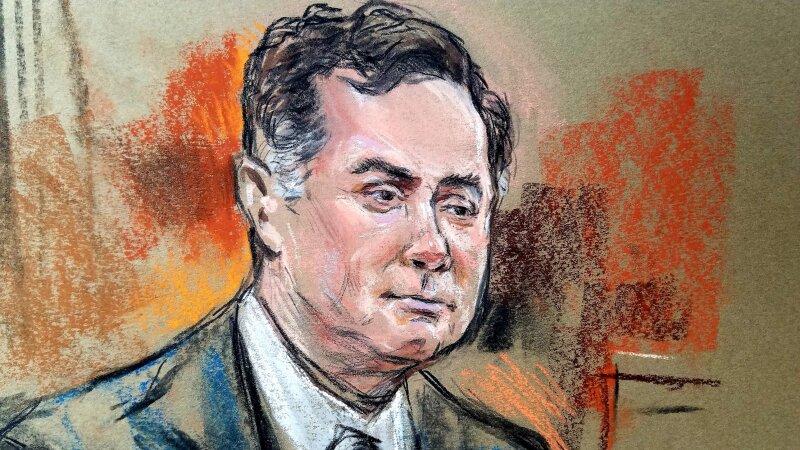 Paul Manafort juicio Estados Unidos Rusia Trump