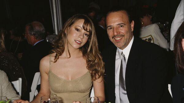 Mariah Carey y Tommy Mottola