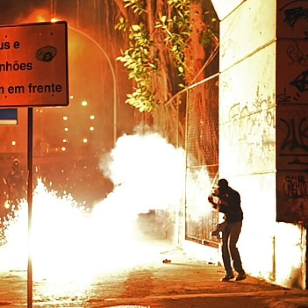 Protestas fuego