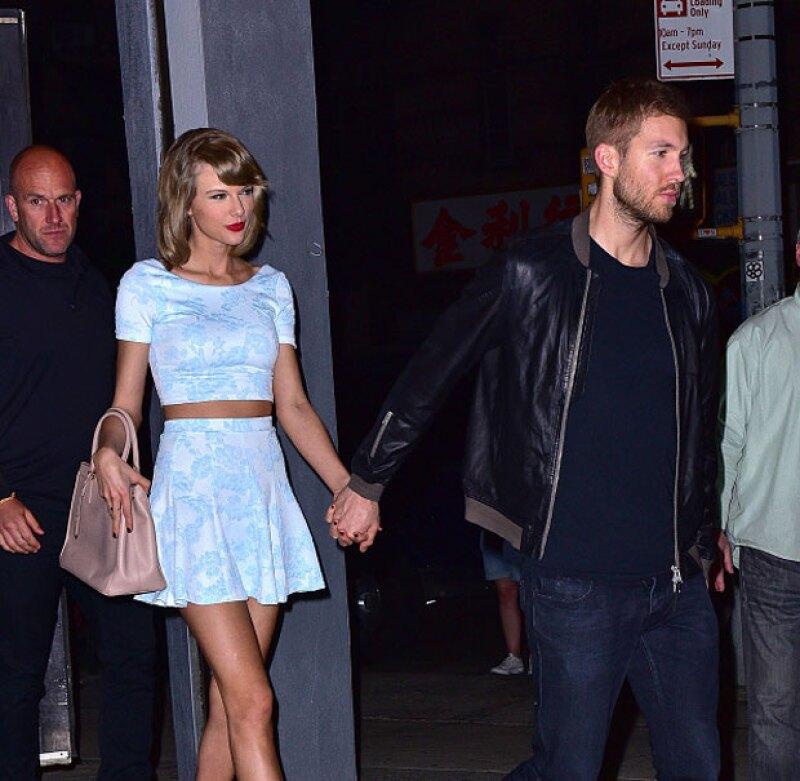 Desde hace unos días corren los rumores de una posible ruptura entre Taylor y Calvin, pero al parecer todo esto fue una mentira.