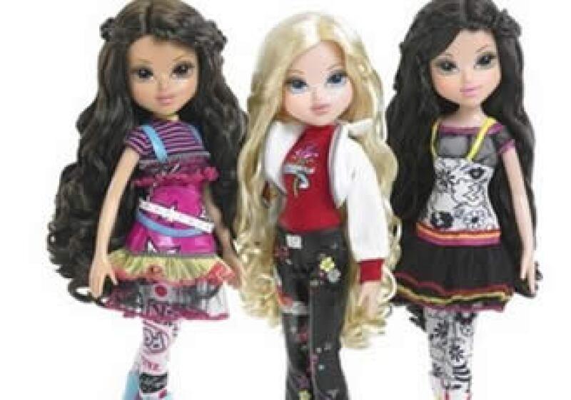 Las Moxie Girlz se preparan para competir contra Barbie y las Bratz. (Foto: AP)