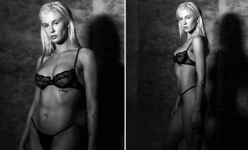 Aún no se sabe si las fotos son para una revista, pero lo que es un hecho es que no ha sido la única en posar al desnudo para el fotógrafo Tyler Kandel.