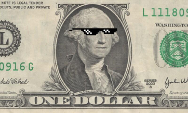Durante la jornada, el dólar tocó los 18.95 pesos. (Foto: Especial)