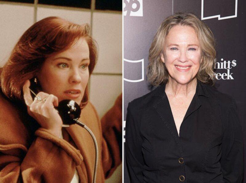Catherine también es conocida por su papel en la cinta de Tim Burton, Beetlejuice.