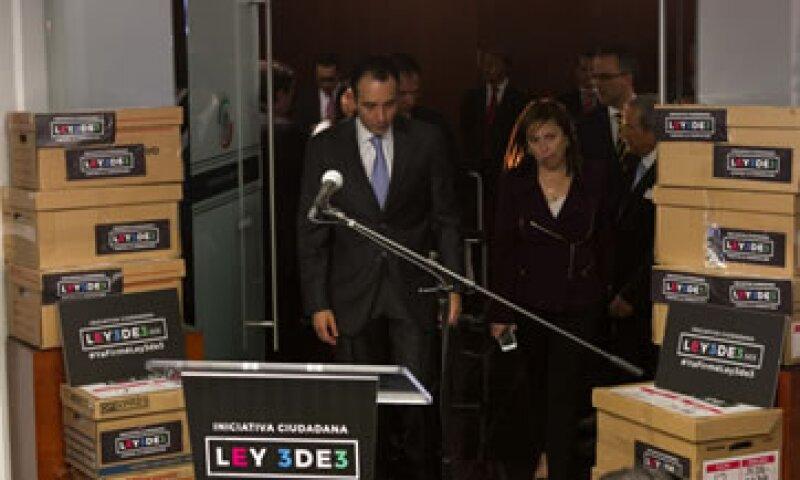 La llamada #Ley3de3 logró reunir 291,000 firmas, según el IMCO. (Foto: Cuartoscuro)