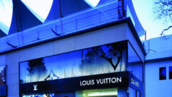Fachada de la tienda Louis Vuitton de Altavista
