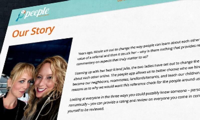 La aplicación ya ha provocado reacciones violentas en línea. (Foto: Peeple/Cortesía)