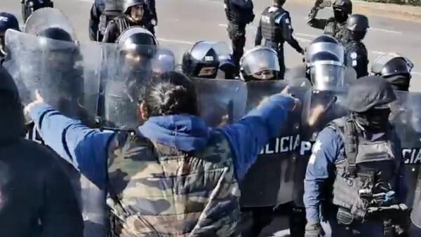 enfrentamiento Guanajuato