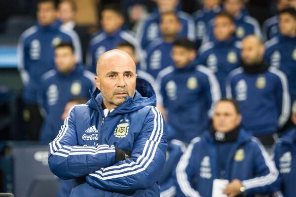 Argentina Rusia 2018 Jorge Sampaoli
