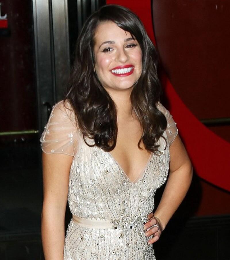Últimamente la actriz de `Glee´ ha mostrado sus encantos, y es que estuvo como invitada de `The Tonight Show´ y se mostró muy sexy, al igual que en la premiere de `New Year´s Eve´.