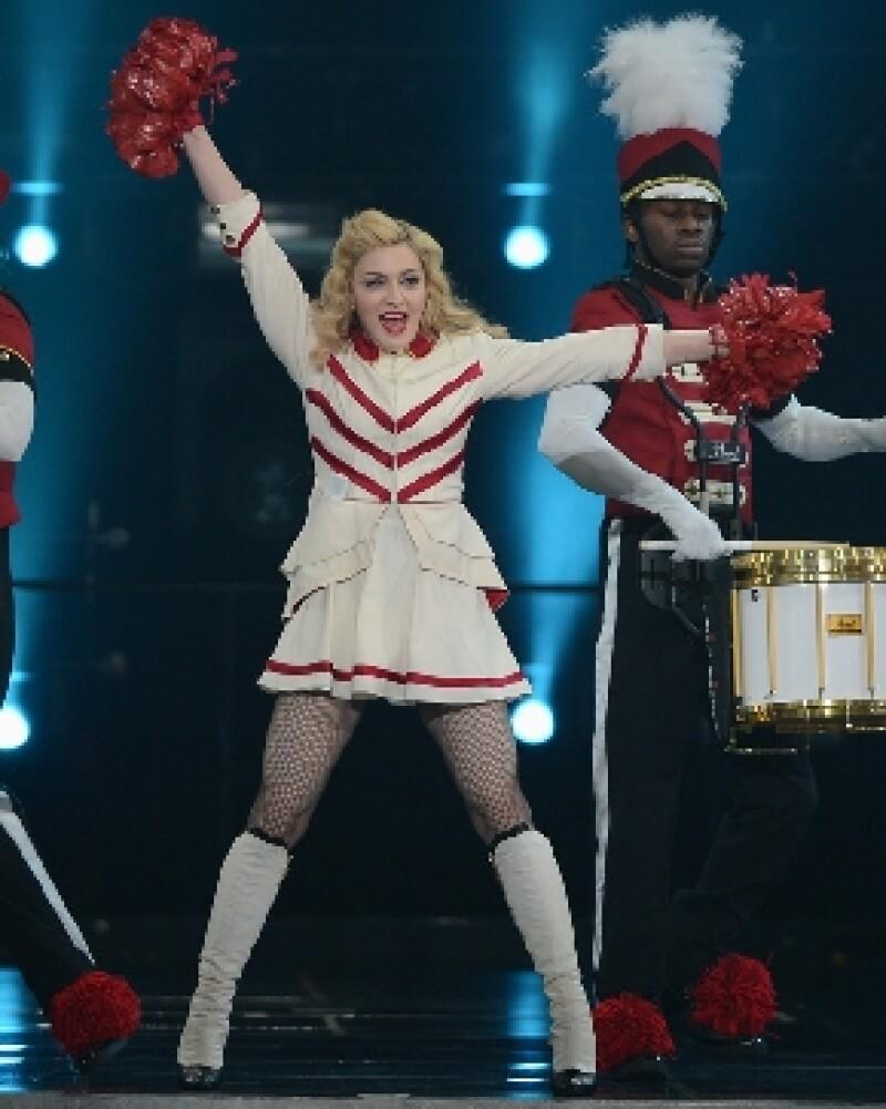 Madonna complació a sus fans.