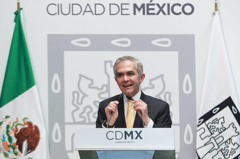 Aunque Miguel Ángel Mancera no milita en el PRD, aseguró que buscará conformar un proyecto con la izquierda para buscar la candidatura rumbo a la presidencia de la República en el 2018.