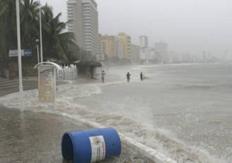 El huracán afectó las costas del Pacífico mexicano. (Foto: Reuters)