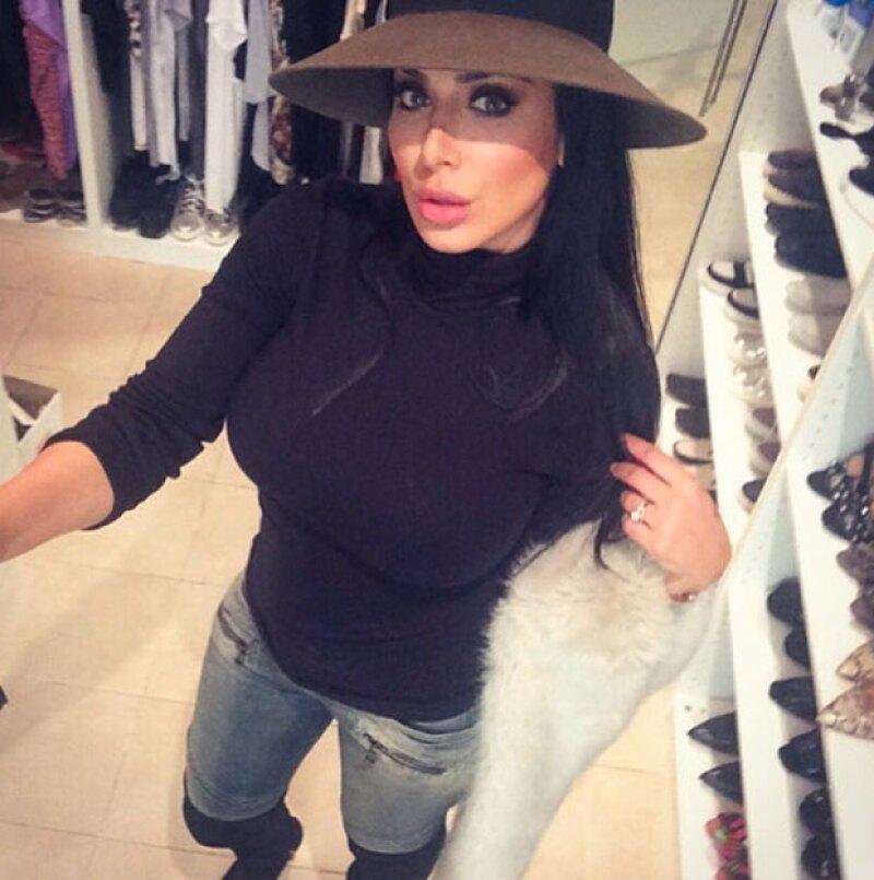 Su parecido con Kim ha hecho que la blogger tenga tantos seguidores.
